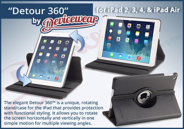 Detour 360 - iPad Cases