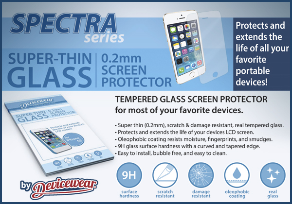 Spectra Series - Glass Screen Protectors
