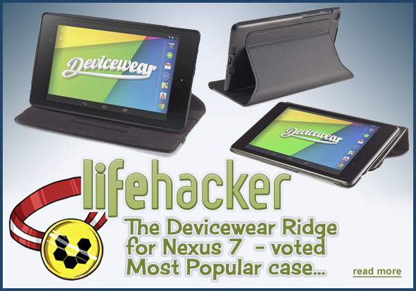 Lifehacker Users Vote Devicewear Ridge - Most Popular Case!