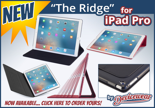 The Ridge™ by Devicewear - Vegan Leather Case for the iPad Pro