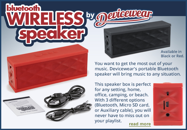 Wireless Speakers by Devicewear/