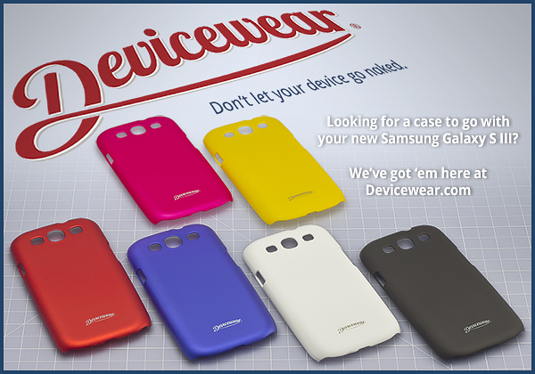 New cases for the Samsung Galaxy S III